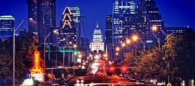 Congress Avenue at Night